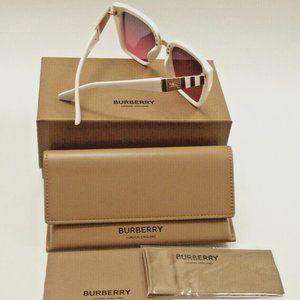 BURBERRY G 6008 Women's White/Purple Gradient Lens